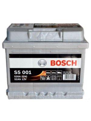 Μπαταρία αυτοκινήτου Bosch S5001 52Ah 207x175x175