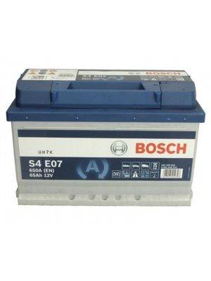 Μπαταρία αυτοκινήτου Bosch EFB start-stop S4E07 65ah 278x175x175