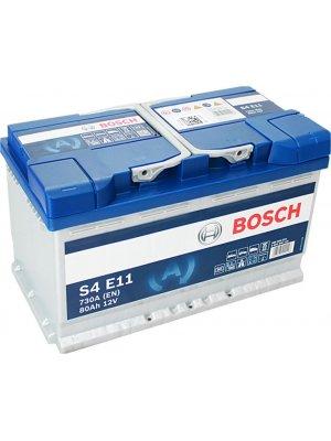Μπαταρία αυτοκινήτου Bosch EFB start-stop S4E11 80ah 315x175x190