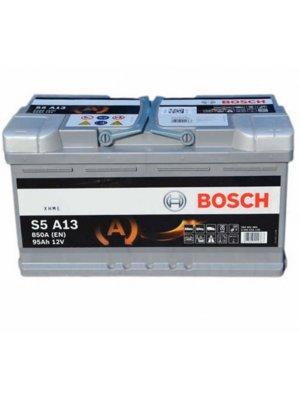 Μπαταρία αυτοκινήτου Bosch AGM start-stop S5A13 95ah 353x175x190