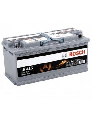 Μπαταρία αυτοκινήτου Bosch AGM start-stop S5A15 105ah 393x175x190