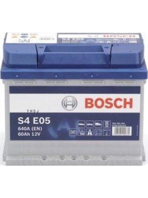 Μπαταρία Αυτοκινήτου Bosch S4E05 EFB start-stop  60ah 640Α 242x175x190
