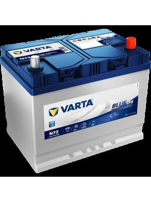 Μπαταρια Αυτοκινητου Start-Stop Varta EFB N72 72AH 760A 261x175x220
