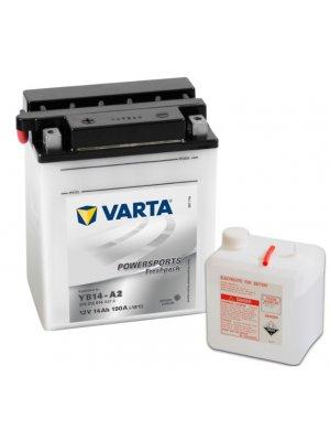 Μπαταρία Μοτοσυκλέτας Varta Powersports Freshpack YB14-A2 12V 14Ah