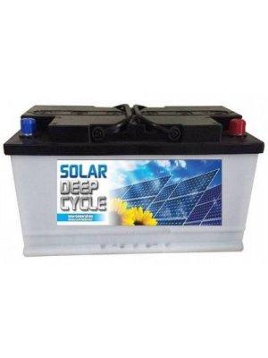 Μπαταρία Βαθιάς εκφόρτισης Φωτοβολταϊκών MITSUBA Solar D100+ (Κλειστού Τύπου) 100ΑΗ 12V